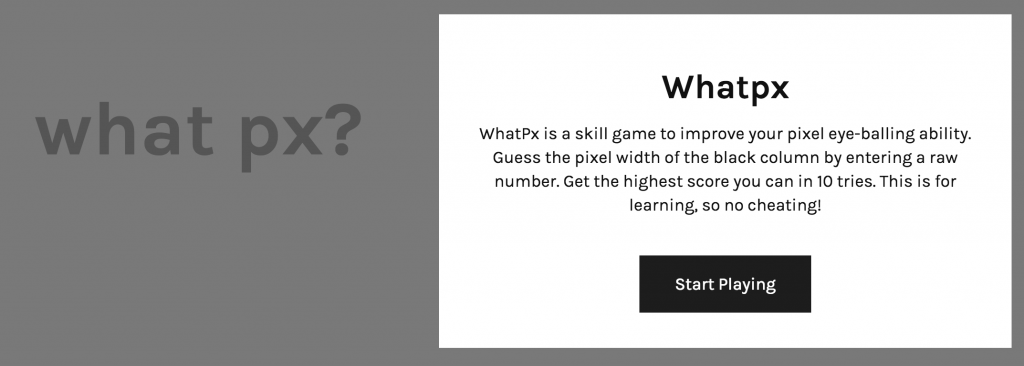 Whatpx_-_Pixel_Guesstimation_Game