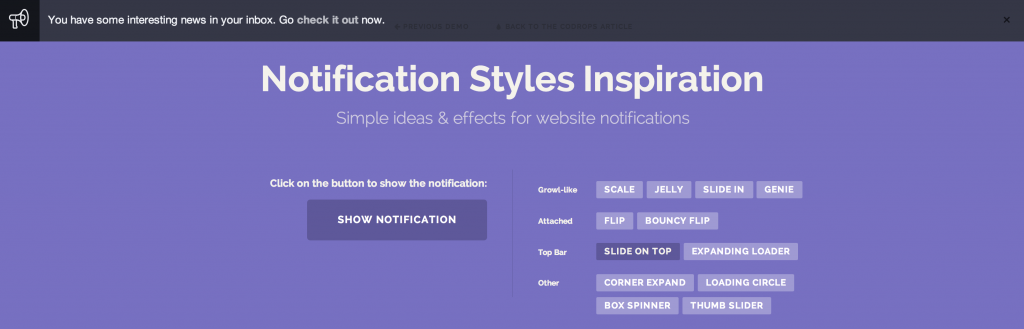 Notification_Styles_Inspiration___Top_Bar_Slide