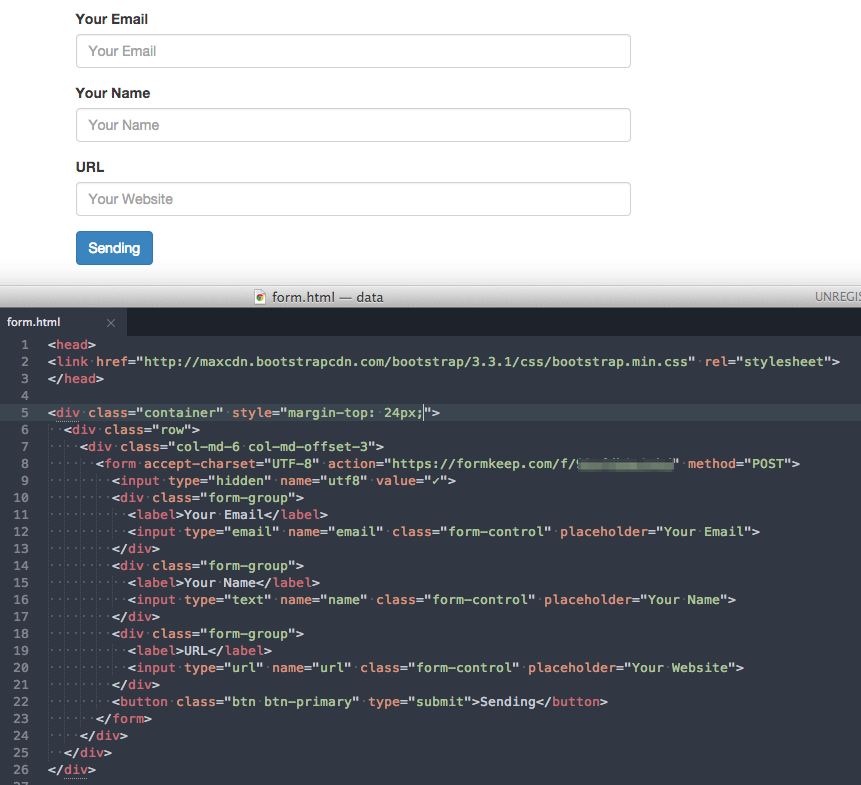form_html